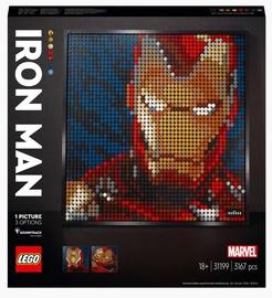 Конструктор Constructor LEGO Art «Железный человек» Marvel Studio 31199
