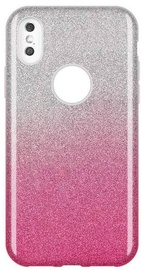 Wozinsky Glitter Shining Back Case For Apple iPhone X/XS Pink