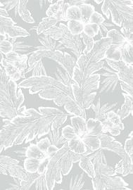 Gultas veļas komplekts Domoletti HAR7319/1, pelēka, 220x200/70x50 cm