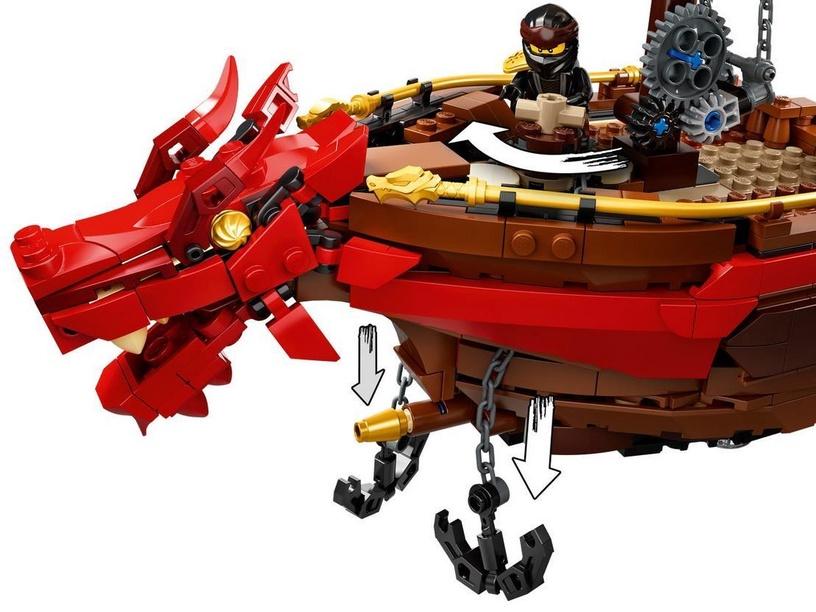 Конструктор LEGO®Ninjago 71705 Летающий корабль Мастера Ву