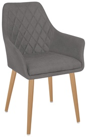 Valgomojo kėdė Halmar K343 Grey
