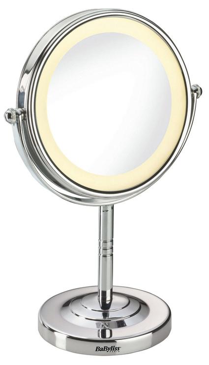Peegel Babyliss Halo 8435E Chrome, valgustusega, teisaldatav, 11x28.6 cm