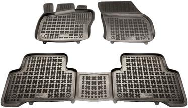 Gumijas automašīnas paklājs REZAW-PLAST VW Touran III 2015, 3 gab.