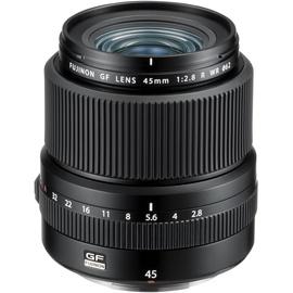 Fujifilm Fujinon GF 45mm F2.8 R WR Lens Black