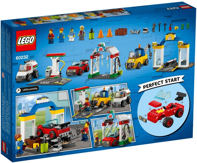 Lego Blocks City garage center 60232