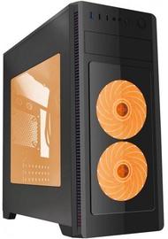 Gembird ATX Case Fornax 1000 Orange LED