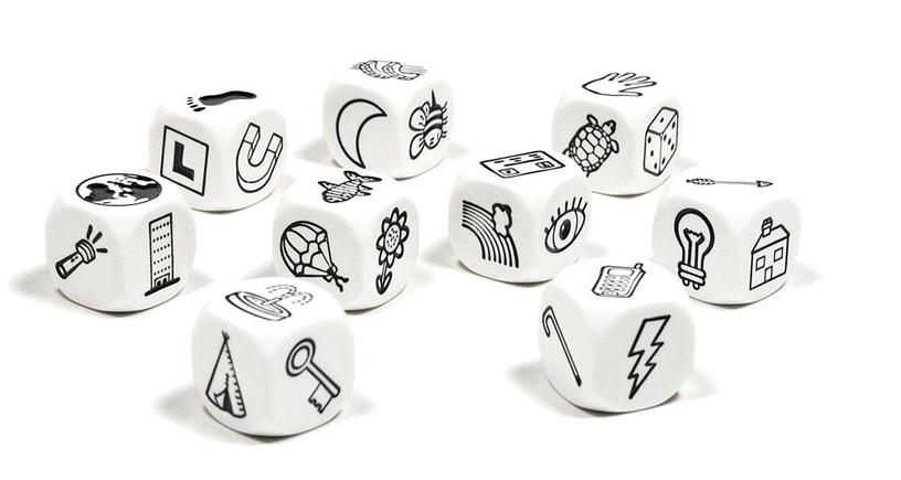Galda spēle Brain Games Rory's Story Cubes