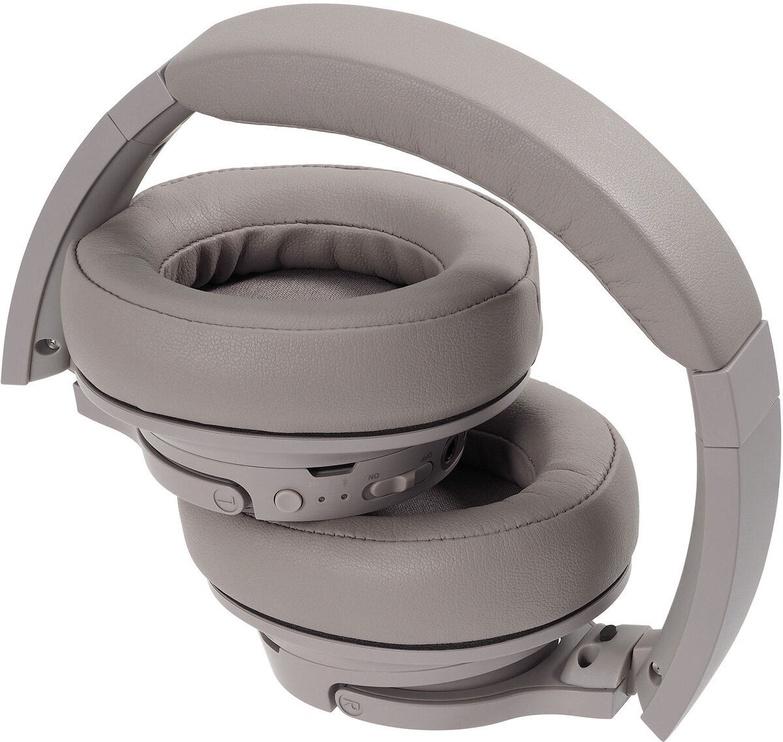 Belaidės ausinės Audio-Technica ATH-SR50BT, rudos/pilkos