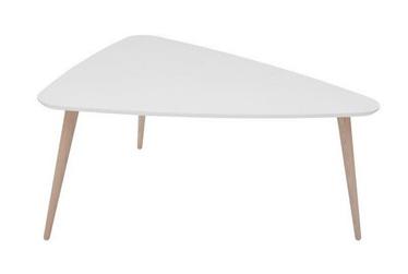Kafijas galdiņš Black Red White Triango S, balta, 800x650x420 mm