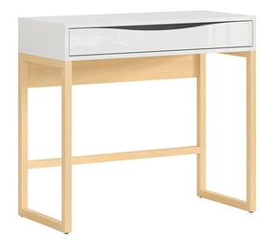 Black Red White Pori Table White/Pine
