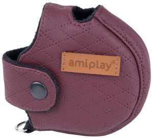 Amiplay Cambridge Infini Retractable Leash Cover XL Burgundy