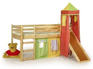 Vaikiška lova Flo pušies spalvos, 80 x 190 cm