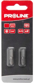 Proline PH3x25mm Bits 1/4'' 2pcs