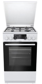 Gorenje K5341WJ Gas-Electric Cooker White