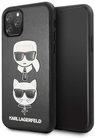 Karl Lagerfeld Karl And Choupette Back Case For Apple iPhone 11 Pro Black