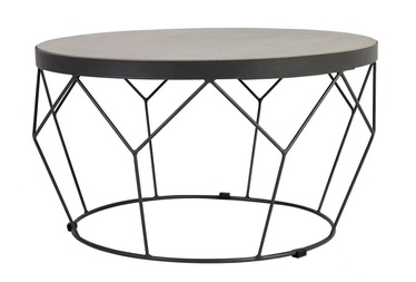 Dārza galds Home4you Sandstone Garden Table Dark Grey (bojāts iepakojums)