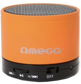 Belaidė kolonėlė Omega OG47B 3W Metal Body Bluetooth Speaker Orange