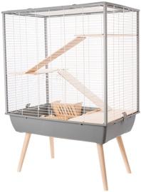 Клетка для грызунов Zolux Neo Cosy Rodents Cage Grey
