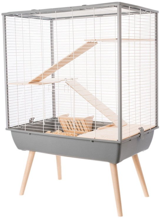 Zolux Neo Cosy Rodents Cage Grey