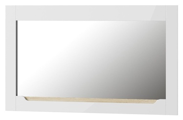 Spogulis Szynaka Meble Ice 30 White, 119x70 cm