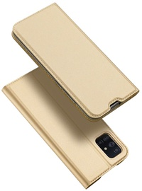 Dux Ducis Skin Pro Bookcase For Samsung Galaxy A71 Gold