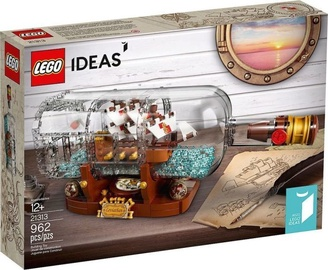 Konstruktor LEGO Ideas Ship In A Bottle 21313