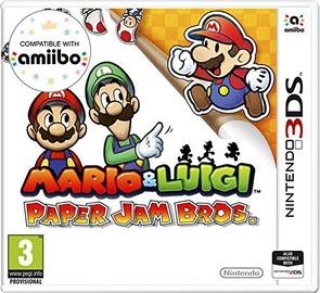 Игра Nintendo Mario And Luigi: Paper Jam Bros. 3DS