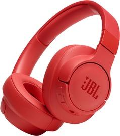 Ausinės JBL Tune 750BTNC Red, belaidės
