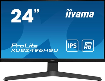"Monitorius Iiyama Prolite XUB2496HSU-B1, 24"", 1 ms"