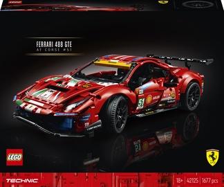 "Конструктор LEGO Technic Ferrari 488 GTE ""AF Corse #51"" 42125, 1677 шт."
