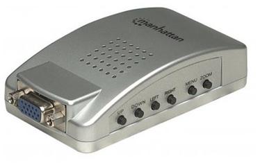 Manhattan TV as PC Monitor Adapter VGA / RCA / HD15