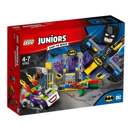 Konstruktorius LEGO Juniors The Joker Batcave Attack 10753
