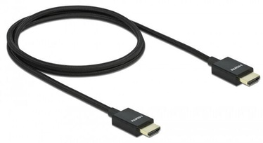 Juhe Delock Koaxiales High Speed HDMI Cable 2m Black