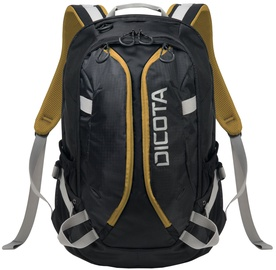 Dicota Active Backpack 14-15.6 Black/Yellow
