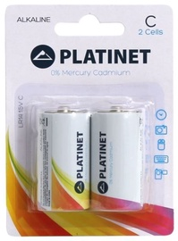 Platinet LR14 Alkine Batteries 2pcs