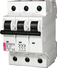Automatinis jungiklis Eti S-193C , 3P, C, 16A, 10kA