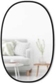 Umbra Hub Oval Mirror Black 91cm
