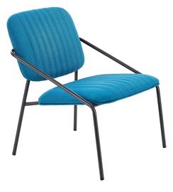 Fotelis Halmar Dennis Blue, 62x66x75 cm