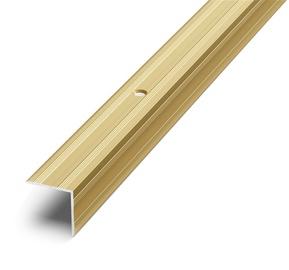 Laiptų kampas D5, aukso, 90 x 2 x 2 cm