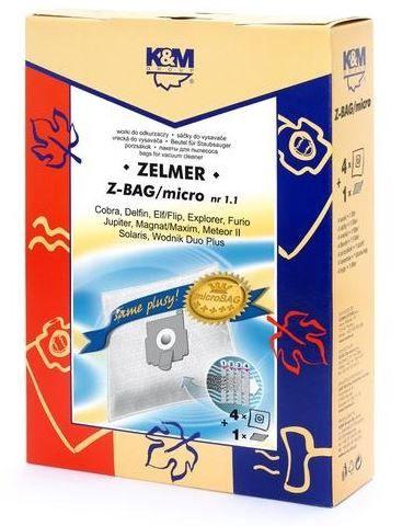 K&M KM-Z-BAG  Vacuum Cleaner 4 Bags Microfilter