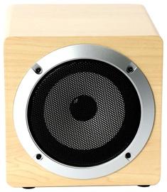 Belaidė kolonėlė Omega OG62W 8W Wooden Body Bluetooth Speaker Beige