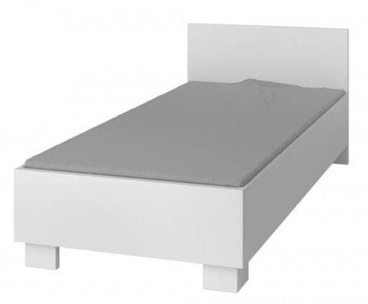 Детская кровать Idzczak Meble Smyk I 36 White, 206x93.5 см
