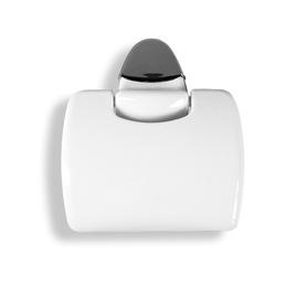 Karo Plast Toilet Paper Holder Claudia 12801 White