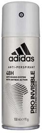 Мужской дезодорант Adidas Pro Invisible 48h 150ml Deodorant Spray