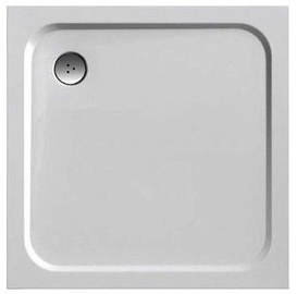 Ravak Perseus Pro Chrome Shower Tray White