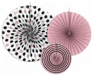 Dekoratsioon Party&Deco Decorative Rosettes 40/32/23cm 3pcs