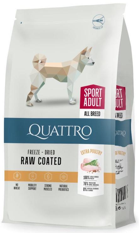 Pašaras Quattro aktyviems šunims su paukštiena 12kg