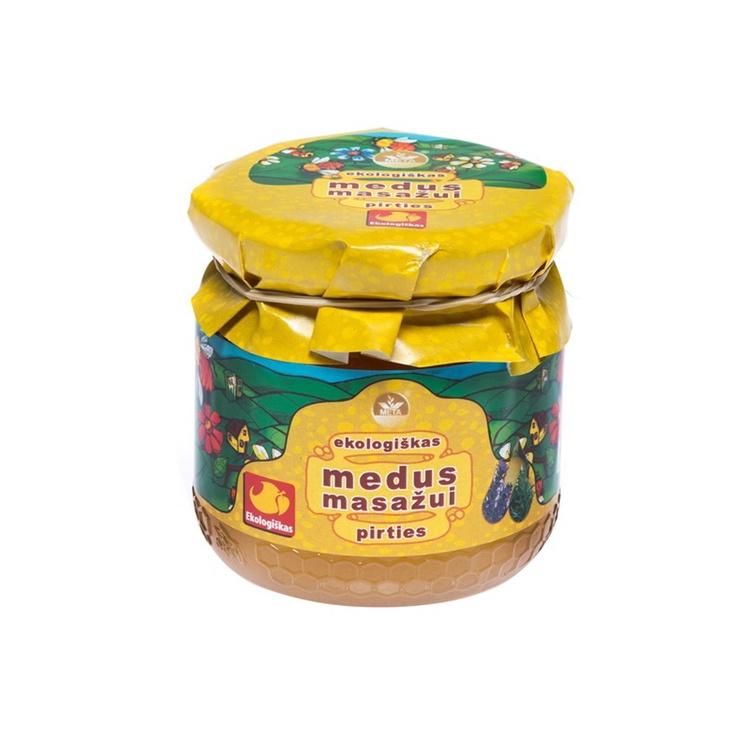 Masažinis medus Mėta, 250 ml