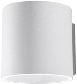Sollux Orbis Wall Lamp 40W GU10 White