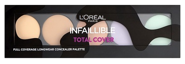 L´Oreal Paris Infallible Total Cover Concealer Palette 10g